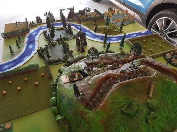 Battleground for the Hay Bale War