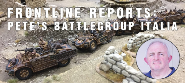 Frontline Reports: Pete's Battlegroup Italia