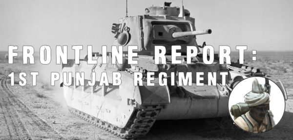 1st Punjab Regiment Frontline Report