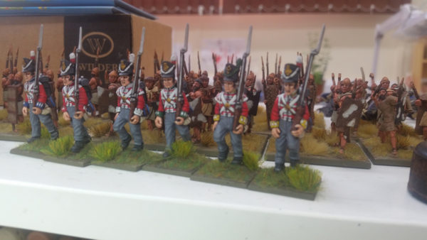 Picture of British line infantry with new metal British heads