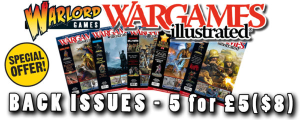Wargames Illustrated back issues deals banner - 5 for £5