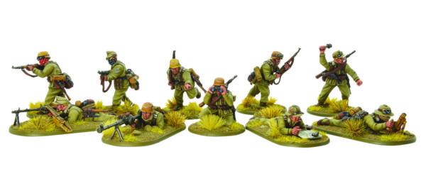 Warlord Games own plastic German Afrika Korps