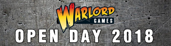 Warlord Games Open Day 2018