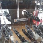 The Royal Navy fleet