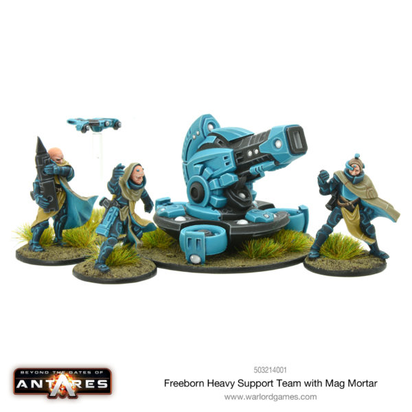 Freeborn Heavy Support Team with Mag Mortar