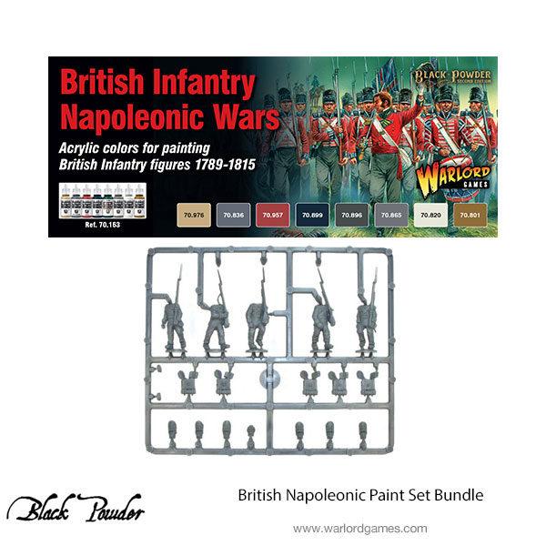 British Napoleonic paint set