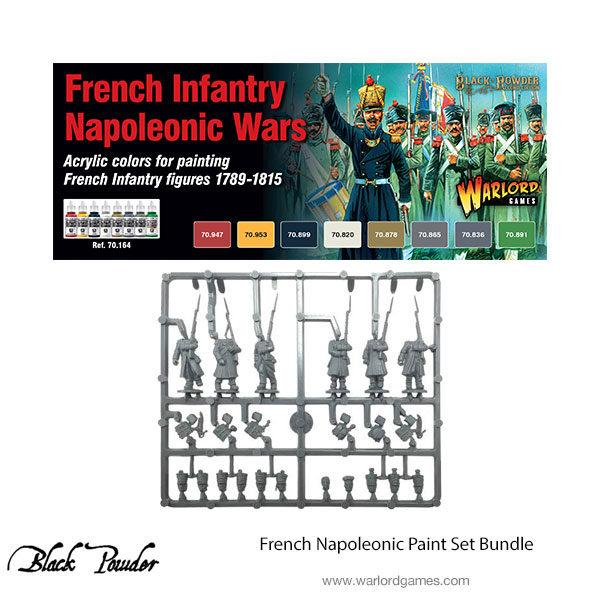 French Napoleonic paint set