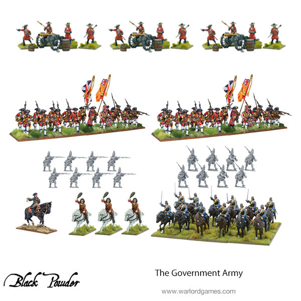The Government Army bundle