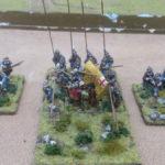 A Royalist regiment during the English Civil War