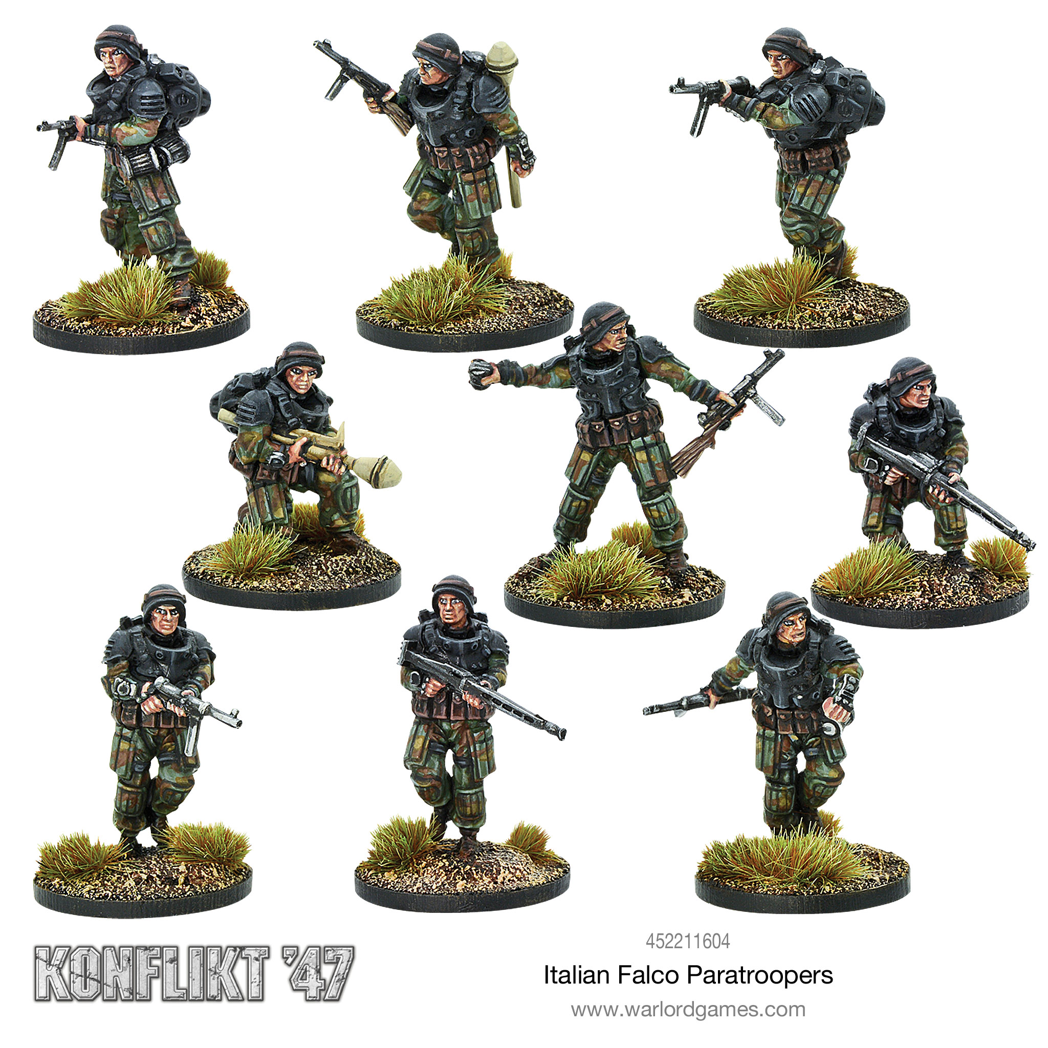 new product 651fb 67fff New: Italian Falco Paratroopers - Warlord Games
