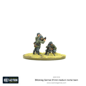Blitzkrieg German Medium Mortar Team