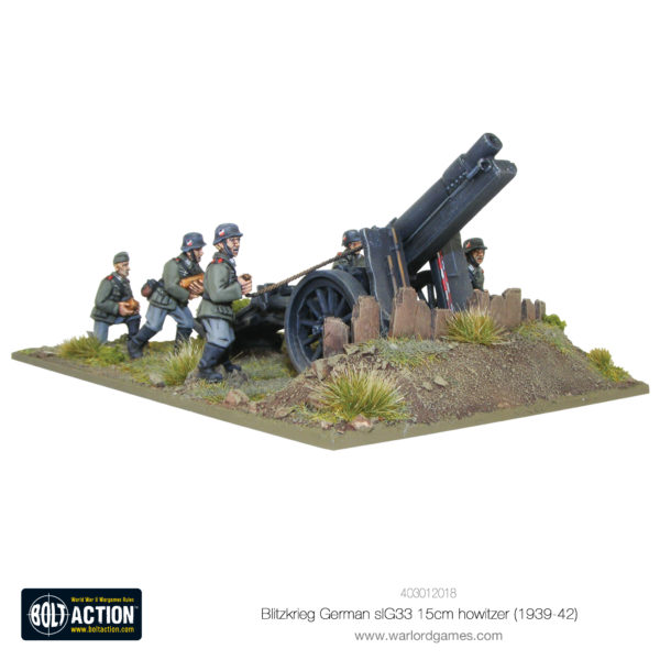 Blitzkrieg German sIG33 15cm howitzer
