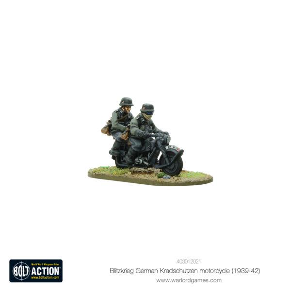 Blitzkrieg German Kradschützen Motorcycle