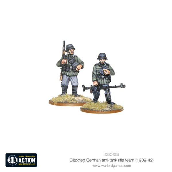 Blitzkrieg German anti-tank rifle team