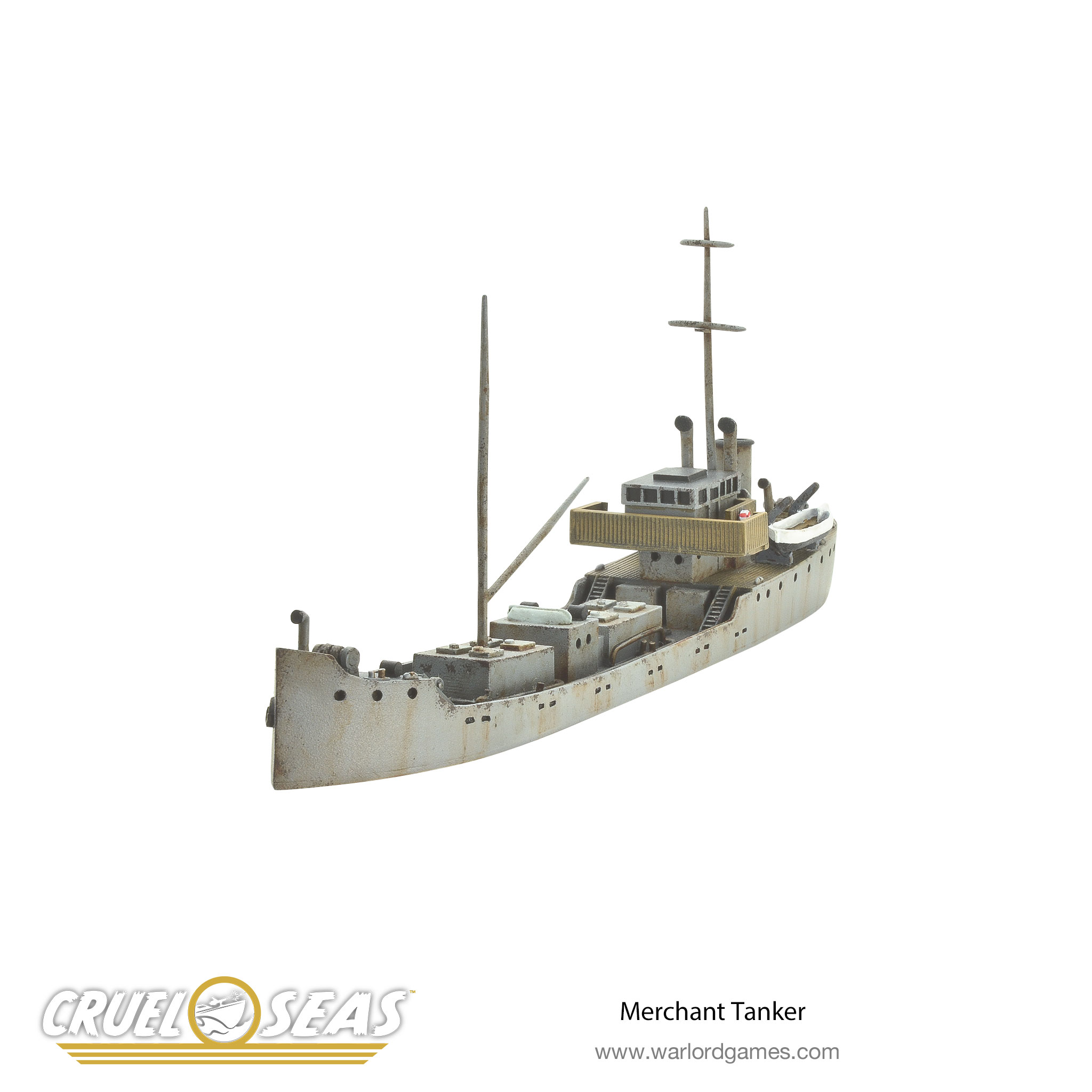 Merchant Tanker – Cruel Seas 1/300th scale | Warlord Games