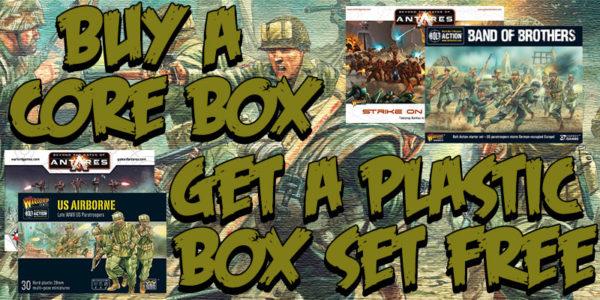 Buy a Core Box Get a Plastic Box Set Free