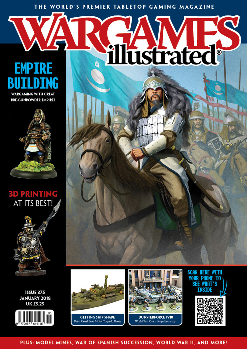 New: Wargames Illustrated WI375 January Edition (With FREE