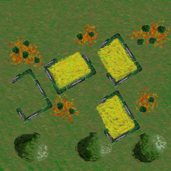 The village of Greenbarrow.