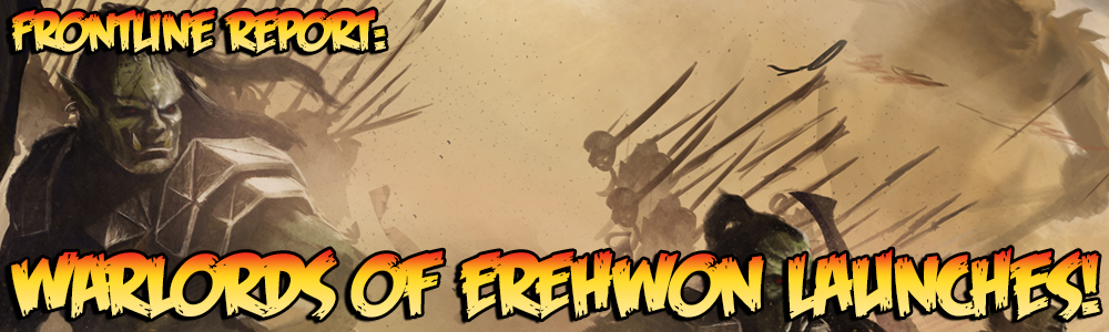 Frontline Report: Warlords of Erehwon Launches! | Warlord Games