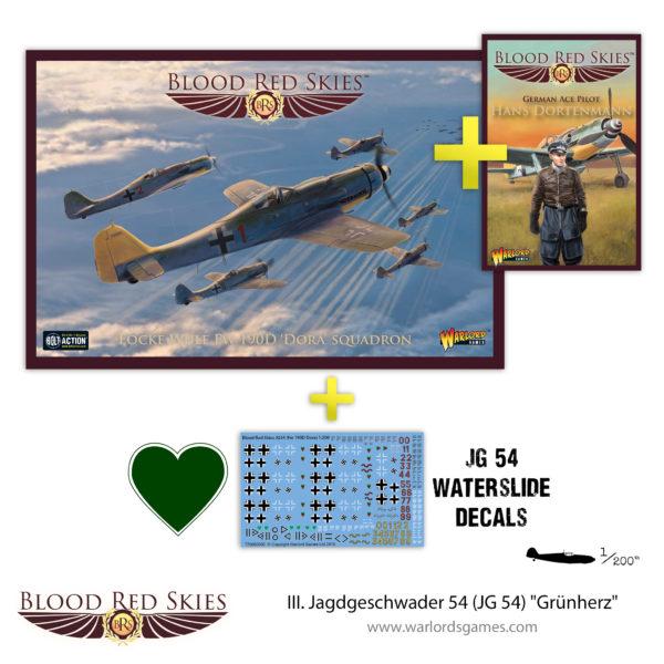 779911016 III. Jagdgeschwader 54 (JG 54) Grünherz