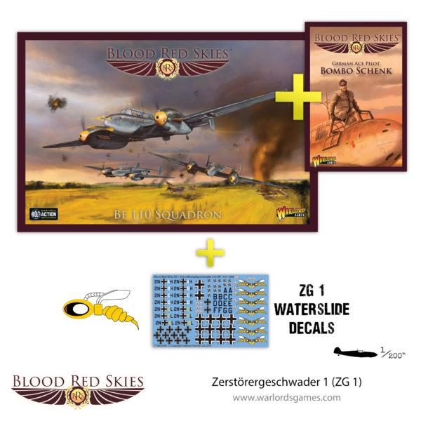 Zerstörergeschwader 1 (ZG 1) Bf110 squadron & ACE