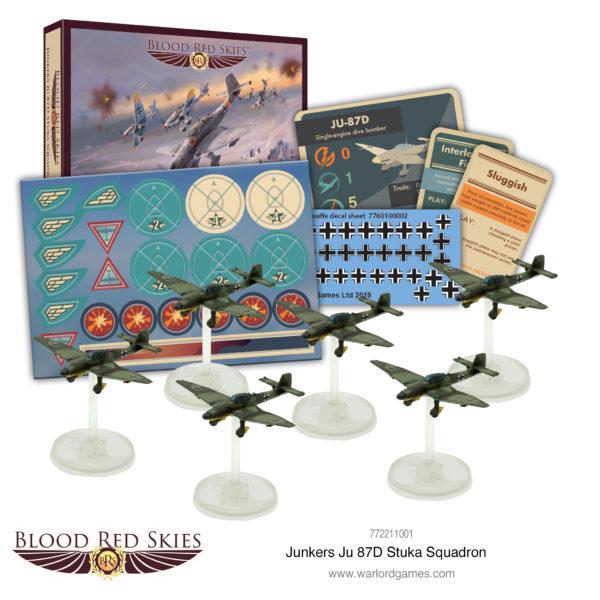 JU 87 D Stuka Squadron
