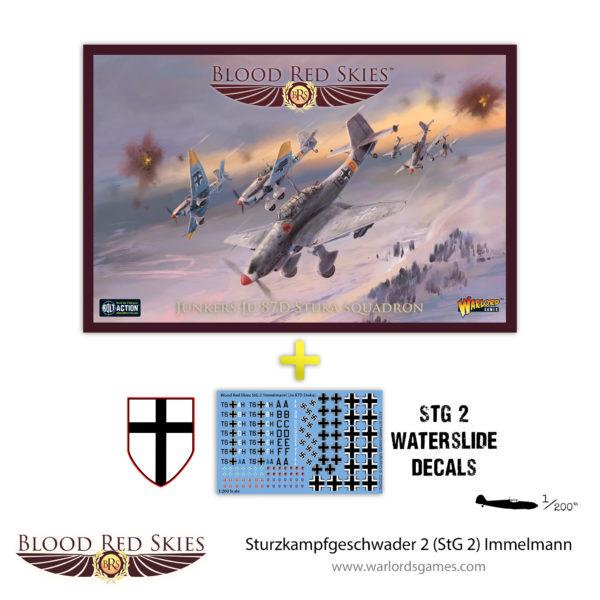 Sturzkampfgeschwader 2 (StG 2) Immelmann - Stuka squadron with decals