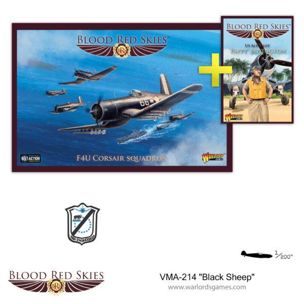 VMA-214 Black Sheep F4U Corsair Squadron