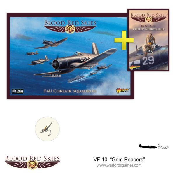 VF-10 Grim Reapers Corsair Squadron