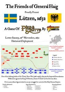 Lutzen 1632 order of battle