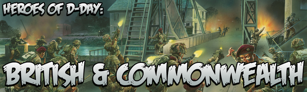 Heroes of D-Day: British & Commonwealth - Warlord Games
