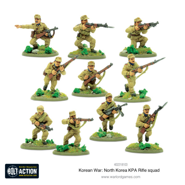 KPA Rifle Squad