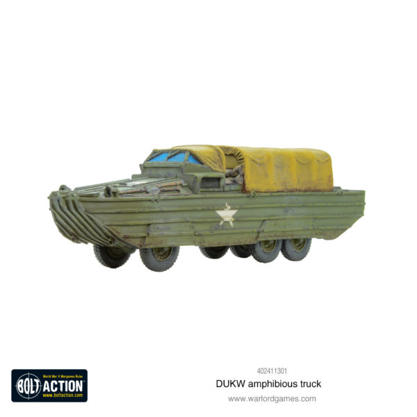 DUKW Amphibious Truck 1