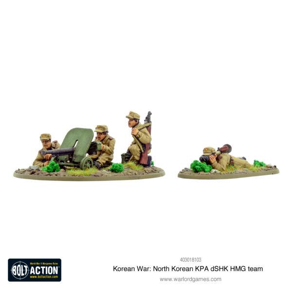 North Korean KPA dSHK HMG team