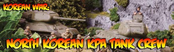 North Korean KPA tank crew