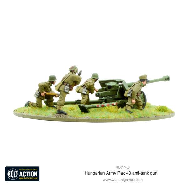 Hungarian Army Pak 40 Anti-tank gun 2