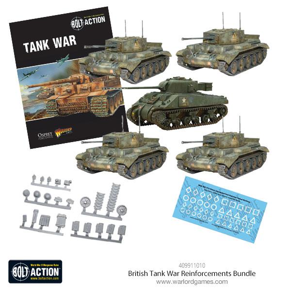 British Tank War Reinforcements Bundle