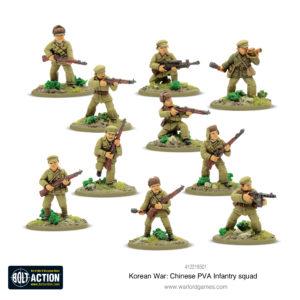 Chinese PVA Infantry Squad