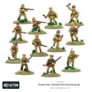 Chinese PVA Conscript Squad