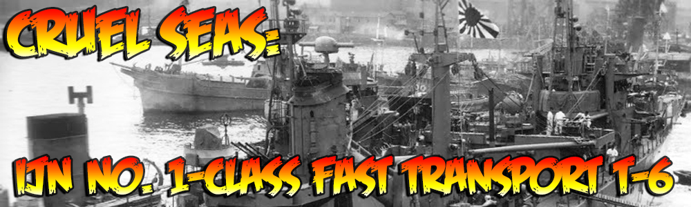 Cruel Seas – 1/300th scale Small Ships miniatures game