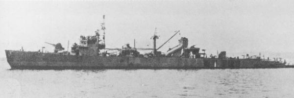 Landing Ship No. 4 on 22 June 1944