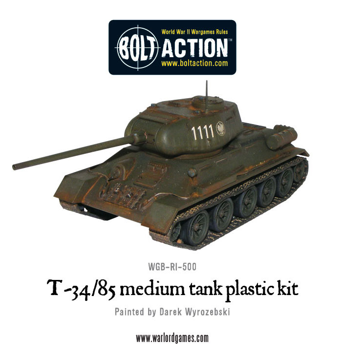 T-34/85 Medium Battle Tank