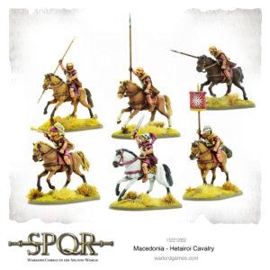 Macedonia Hetairoi Cavalry
