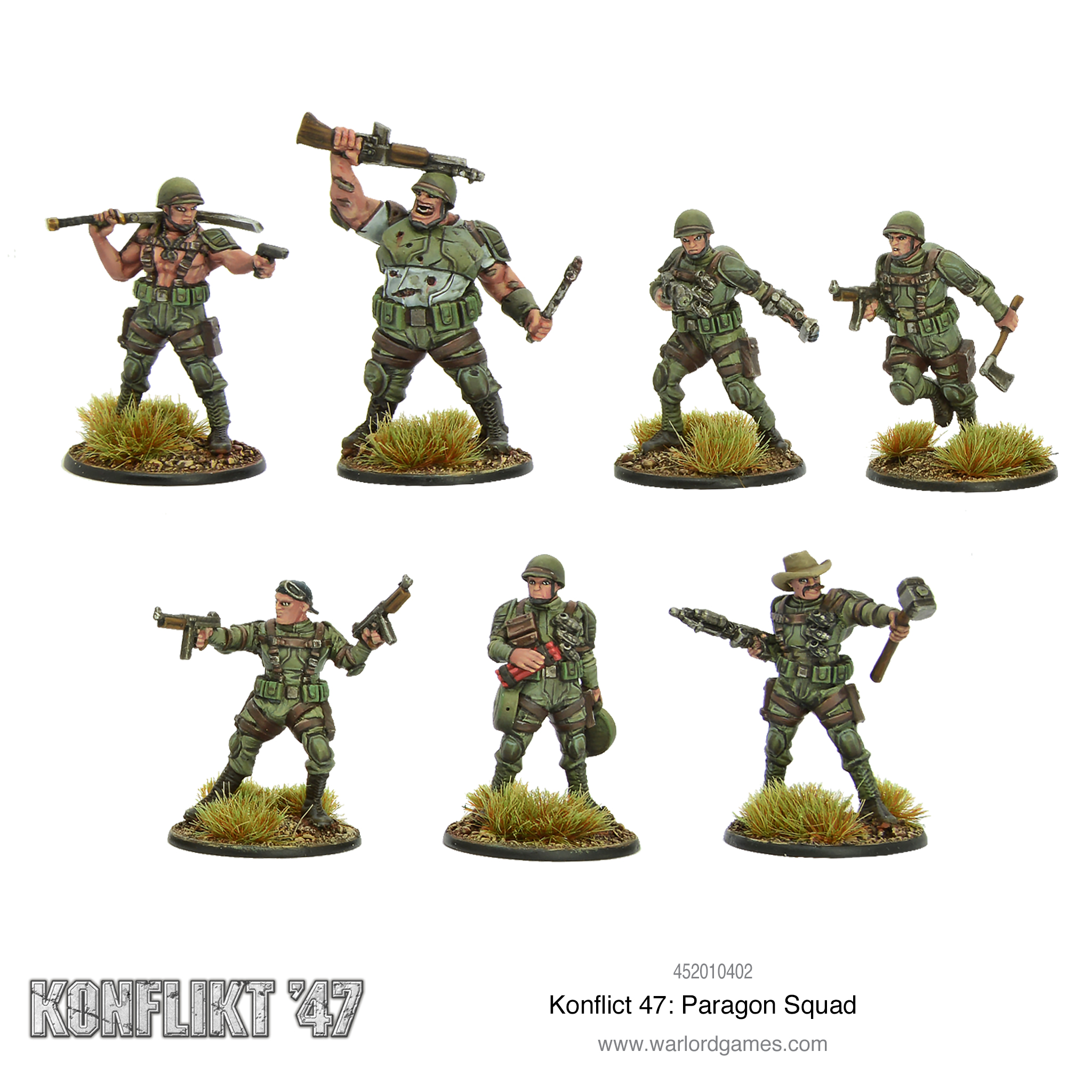 K'47 US Paragon Squad
