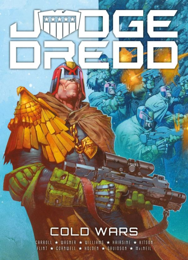 JUDGE DREDD COLD WARS [PAPERBACK COMIC]