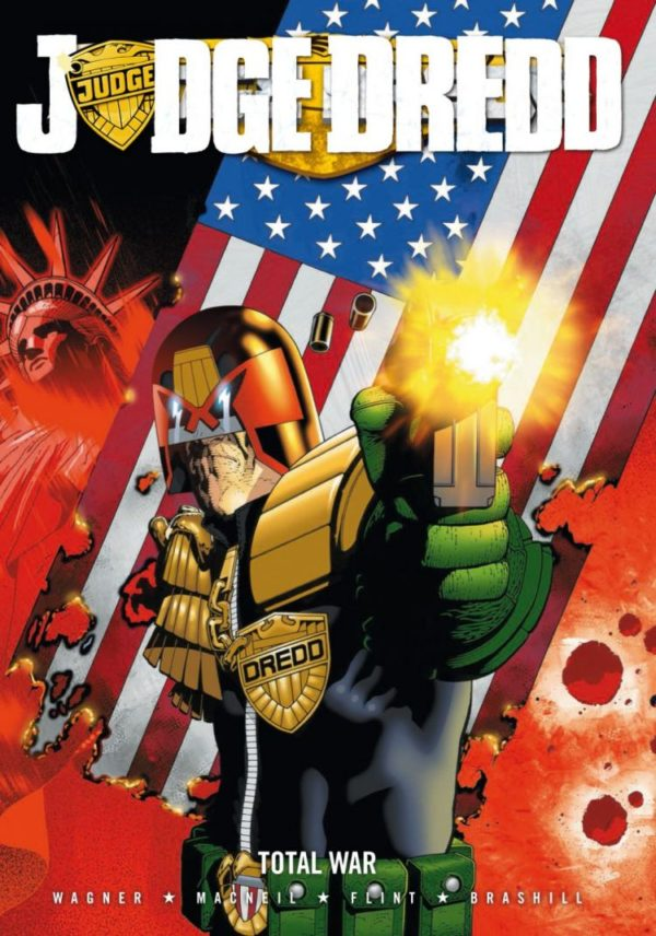 JUDGE DREDD TOTAL WAR [PAPERBACK COMIC]