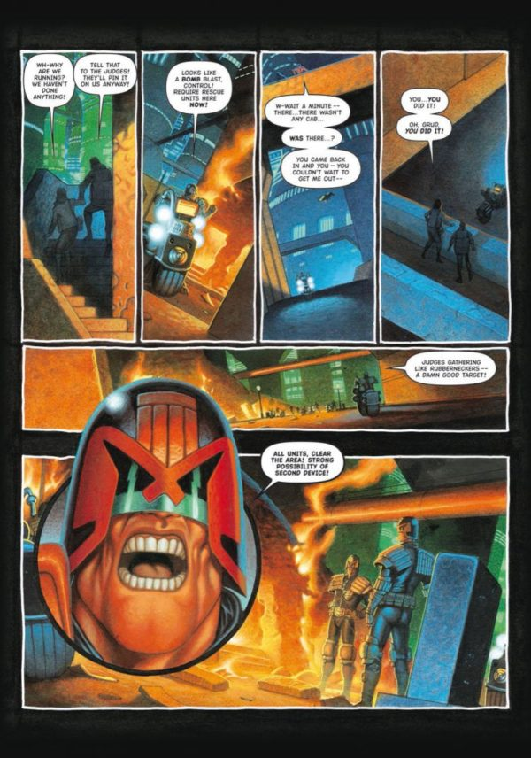 JUDGE DREDD TOTAL WAR [PAPERBACK COMIC] sample