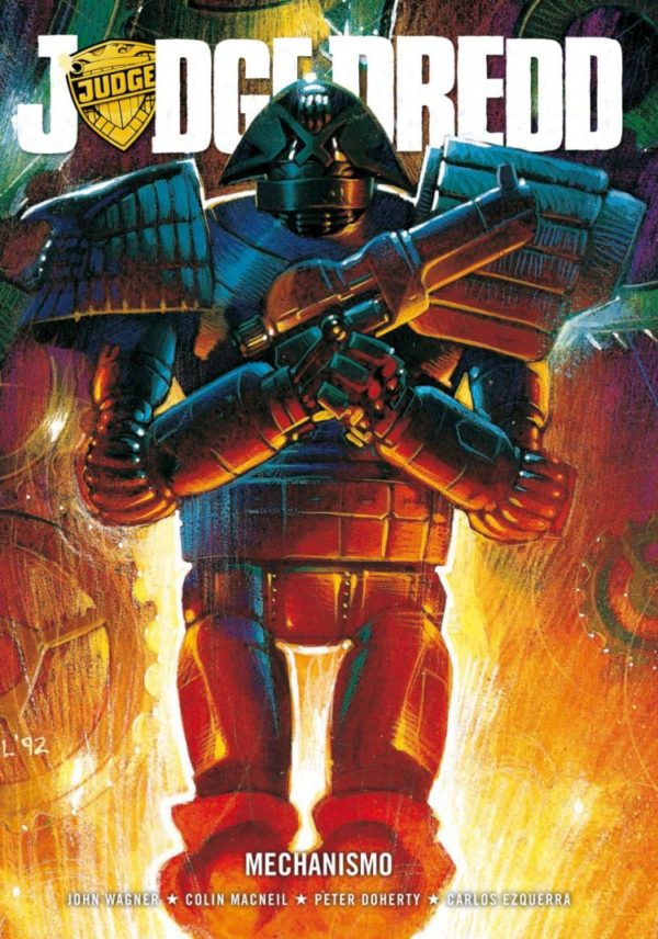JUDGE DREDD MECHANISMO [PAPERBACK COMIC]