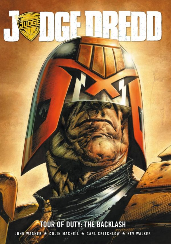 JUDGE DREDD TOUR OF DUTY - THE BACKLASH [PAPERBACK COMIC]