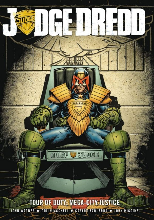 JUDGE DREDD TOUR OF DUTY MEGACITY JUSTICE [PAPERBACK COMIC]